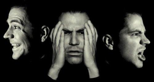 Mand med humørsvingninger