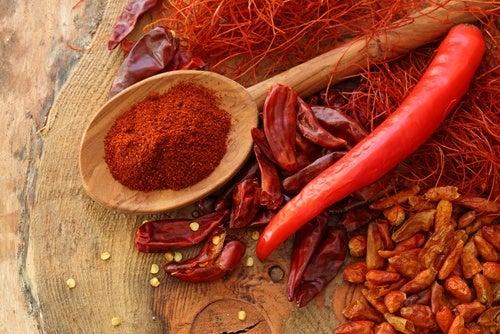 Chili og chilipulver