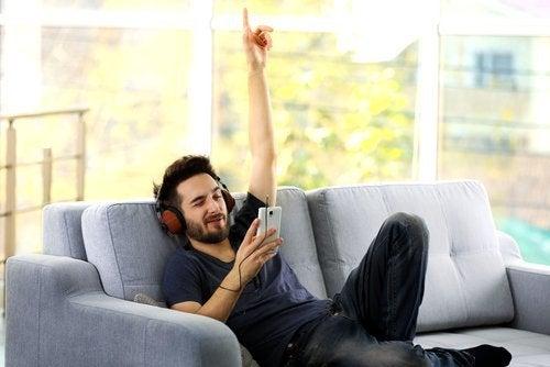 Musik får dig til at have det godt