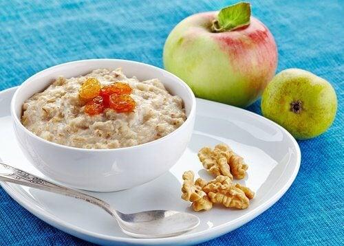 5 mættende morgenmads ingredienser til vægttab