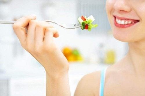 Salat på gaffel