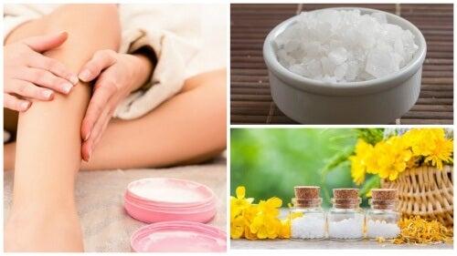 Lav magnesiumolie for at lindre smerter i benene
