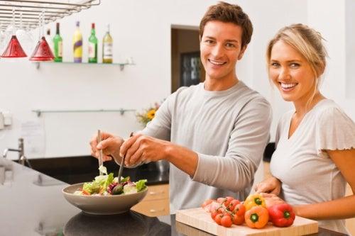 Par der laver salat