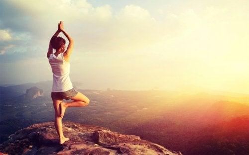 Simple yogaøvelser kan hjælpe dig til at kurere depression