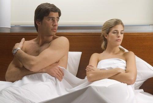 Par der sidder i sengen - smerter under samleje