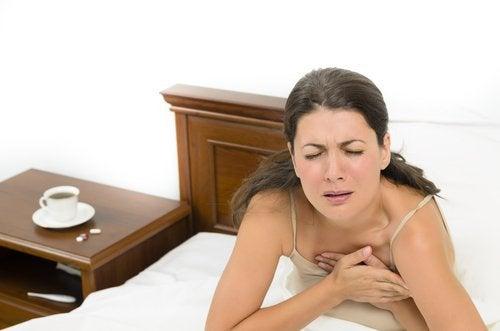 Svedeture forekommer især under overgangsalderen.
