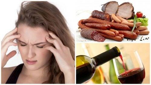 9 fødevarer og drikkevarer, der kan forårsage migræne