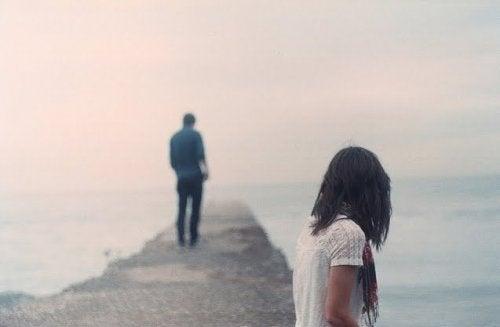 Vanskeligheden ved at komme videre fra et afsluttet forhold