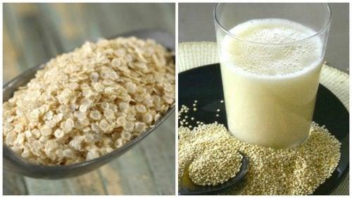 Lær hvordan du laver quinoa mælk og om dets fordele