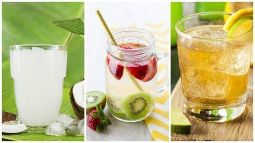 Rens din krop og tab dig med disse 5 udrensende drikke
