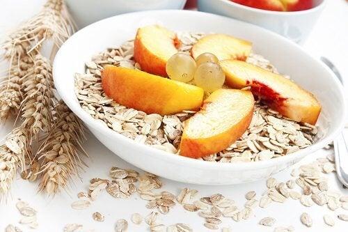 Korn og frugt