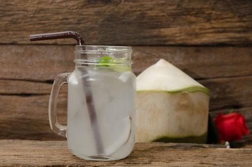 Kokosvand med lime