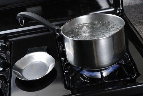 Vand der bliver kogt