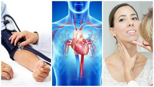 7 potentielle årsager til kongestiv hjertesvigt