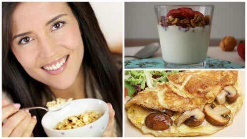 5 sunde, proteinrige fødevarer til morgenmad for en energifyldt dag