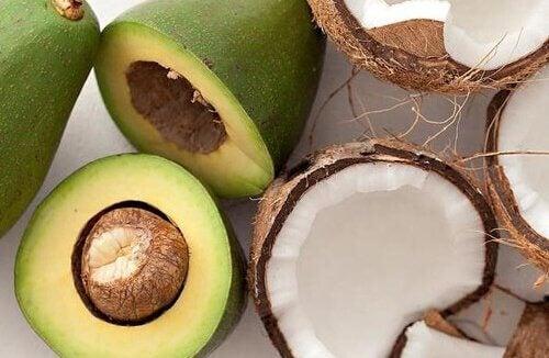 Avocadoer og kokos
