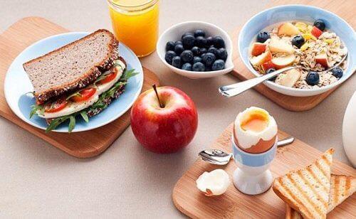 5 simple trin til effektivt at tabe sig ved morgenmad og aftensmad