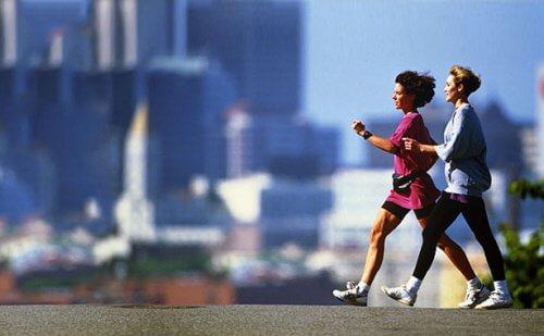 To kvinder der gaar en tur