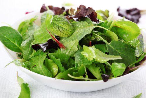 Groen salat