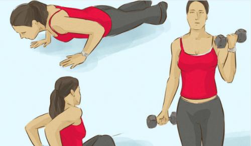 3 øvelser til at styrke dine armmuskler