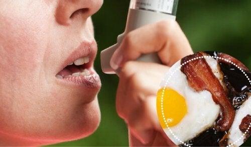 9 fødevarer som personer med astma bør undgå