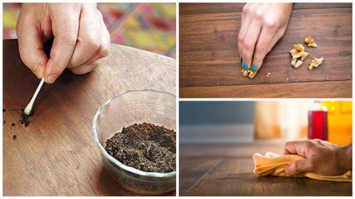 8 tricks til at slippe af med ridser på dine træmøbler