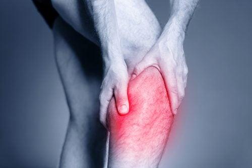 Krampe i benet