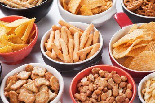 Saltede fødevarer