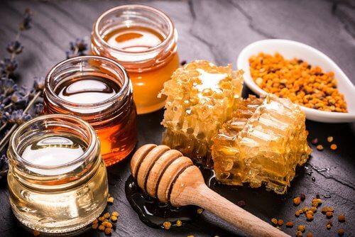 Forskellige typer honning