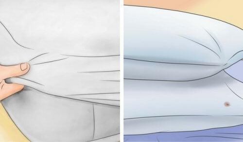 Sådan bleger du din madras og pude