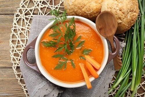 Græskar smager fantastisk i suppe, og så er det også sundt.