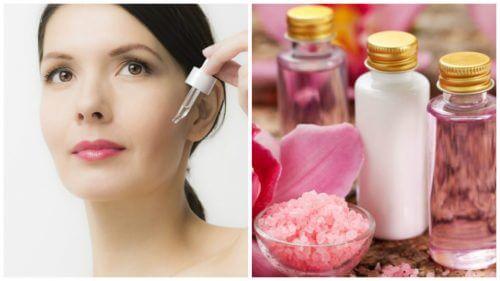 5 opskrifter med rosenvand til ansigtet