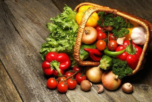 Forskellige groentsager