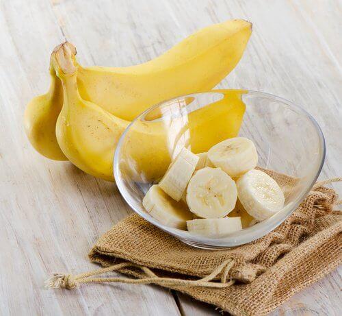 Bananer og bananskiver
