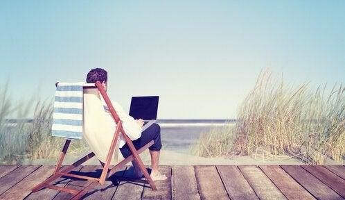 Du vil fortryde i fremtiden at du lever for at arbejde.