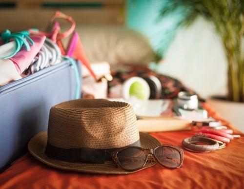 Hat og andet sommer gear - virale sygdomme