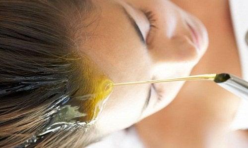 Olivenolie hjælper sundheden i din hovedbund