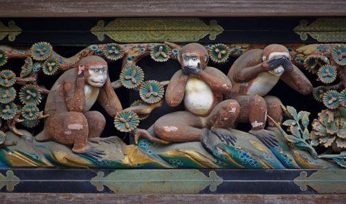 """Tidsløs lærdom: Det kan de """"tre vise aber"""" lære os"""