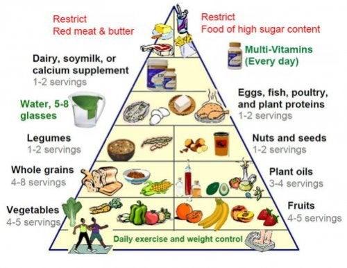 Den nye kostpyramide for en sund livsstil