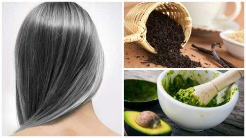 Forebyg grå hår med disse 6 naturlige hjemmemidler