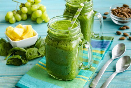 Groenne smoothie  -slank talje