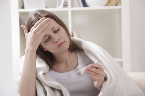 Du bør ikke træne, hvis du har feber.