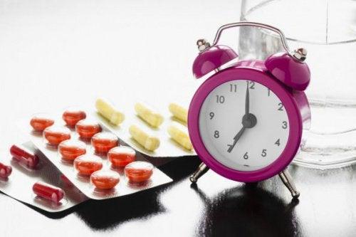 Fødevarer og medicin der aldrig skal blandes sammen