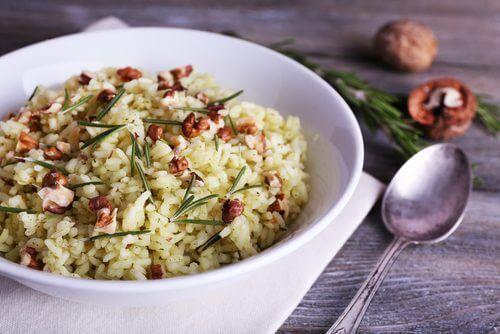 Tallerken med ris