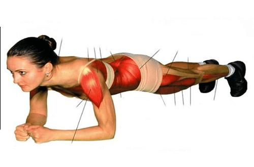 Træningsøvelser til at forbrænde fedt og forbedre din holdning