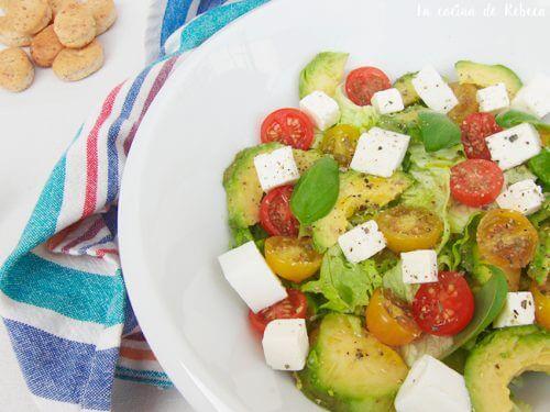 Salat med lav kalorieindhold