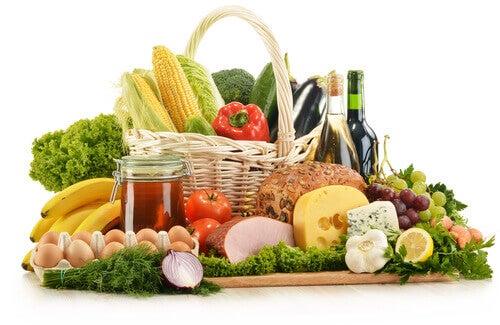 Spis en sund kost.