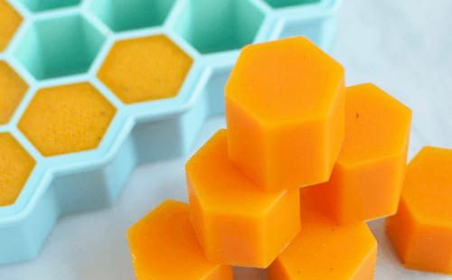 Lækre anti inflammatoriske gelatine sekskanter