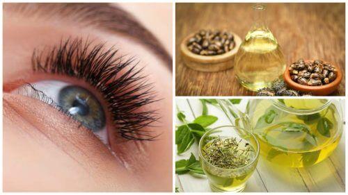 Gør dine øjenvipper længere med disse 7 naturlige behandlinger
