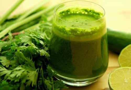 Sådan tilbereder du grønt vand, der vil afgifte din krop på tre dage